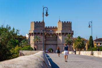 Torres de Serranos  Valencia Provinz Valencia Spanien by Lara Ehlert in Valencia_Stadtrundgang
