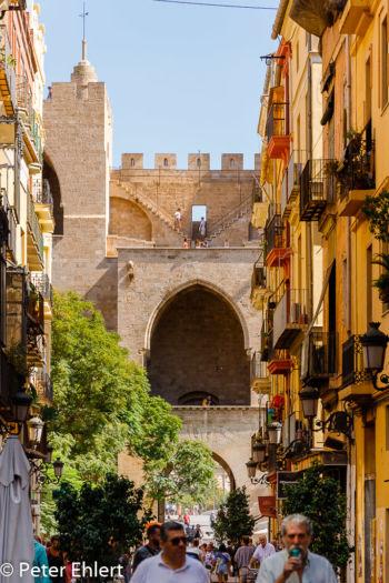 Porta de Serrans  Valencia Provinz Valencia Spanien by Peter Ehlert in Valencia_Stadtrundgang