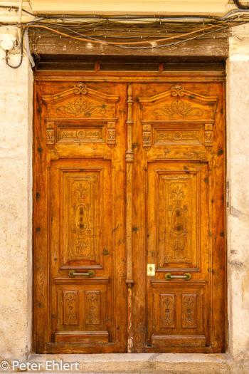 Holztür  Valencia Provinz Valencia Spanien by Peter Ehlert in Valencia_Stadtrundgang