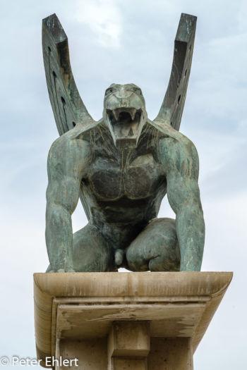 Statue  Valencia Provinz Valencia Spanien by Peter Ehlert in Valencia_Turia