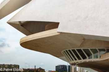 Dachspitze mit Terrasse  Valencia Provinz Valencia Spanien by Lara Ehlert in Valencia_Arts i Ciences