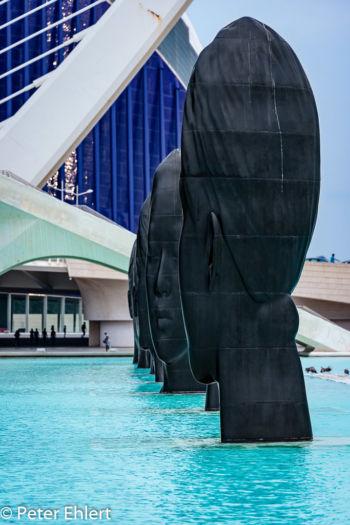 Jaume Plensa - Faces  Valencia Provinz Valencia Spanien by Peter Ehlert in Valencia_Arts i Ciences