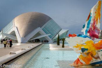 Hemisferic und Kunst  Valencia Provinz Valencia Spanien by Peter Ehlert in Valencia_Arts i Ciences