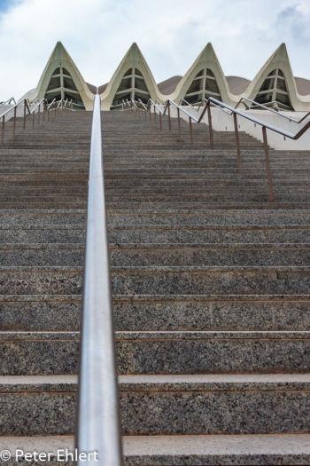 Treppe mit Dach  Valencia Provinz Valencia Spanien by Lara Ehlert in Valencia_Museu_Ciences