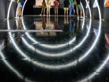 Leuchtbögen  Valencia Provinz Valencia Spanien by Peter Ehlert in Valencia_Museu_Ciences