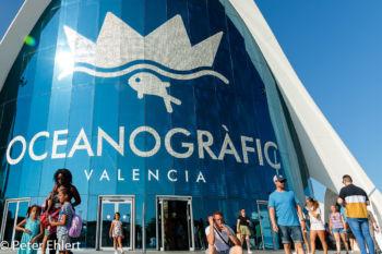 Eingangsgebäude  Valencia Provinz Valencia Spanien by Peter Ehlert in Valencia_Oceanografic