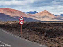Fahrt zum Nationalpark  Yaiza Kanarische Inseln Spanien by Peter Ehlert in LanzaroteInsel
