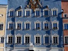 Stadtsaal  Burghausen Bayern Deutschland by Peter Ehlert in Stadtrundgang