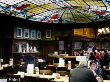 Innenraum mit Glasdecke  Köln Nordrhein-Westfalen Deutschland by Peter Ehlert in Köln_Kneipen