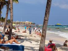 Strand  Playa del Carmen Quintana Roo Mexiko by Peter Ehlert in Stadtrundgang Playa del Carmen